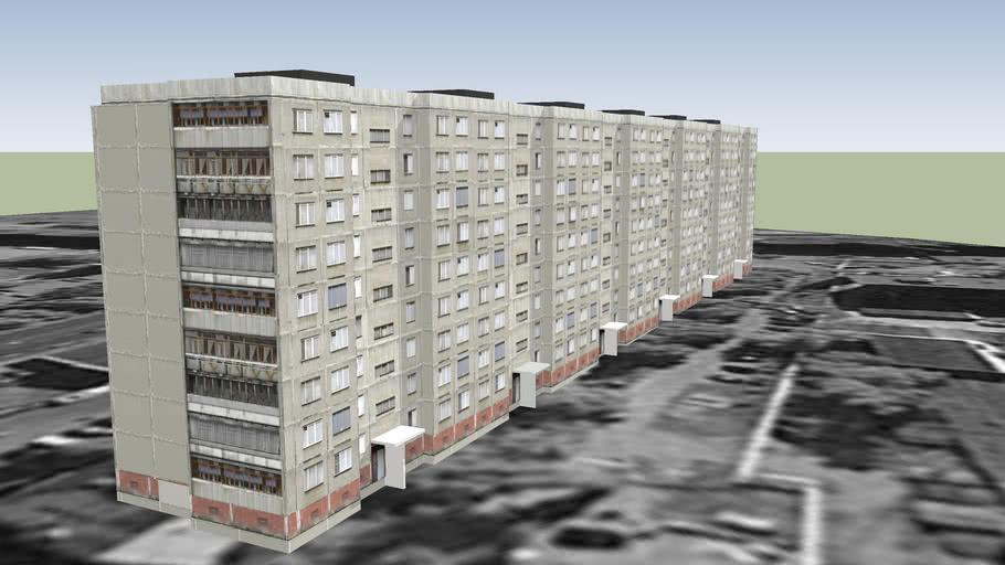 панельный дом, 9-ть этажей