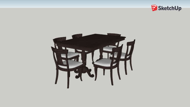 Copy of Mesa Dinning Table & Chairs