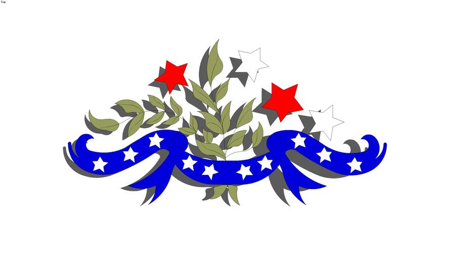 Leaf and Liberty Ribbon