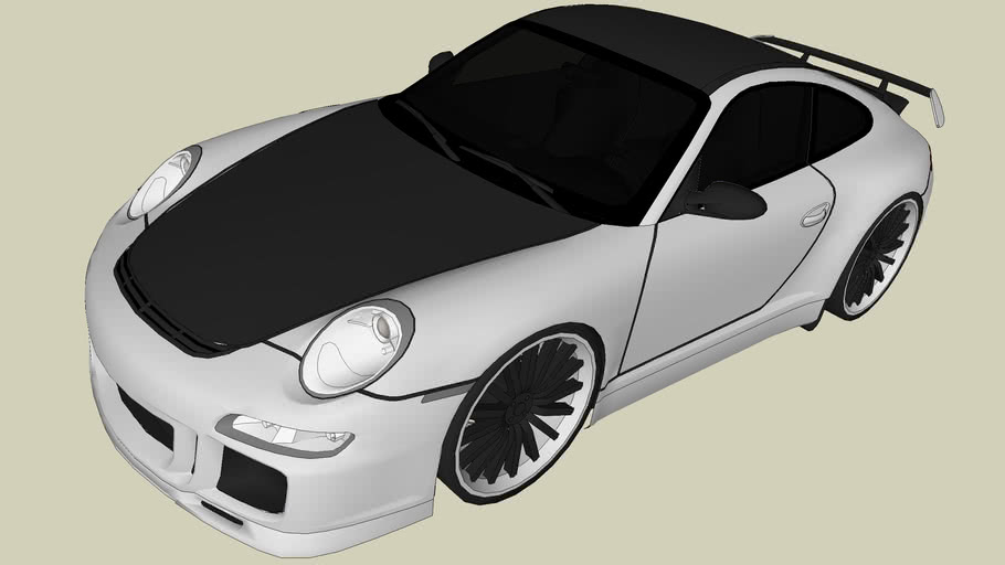 Modified Porsche 911 GT3 RS