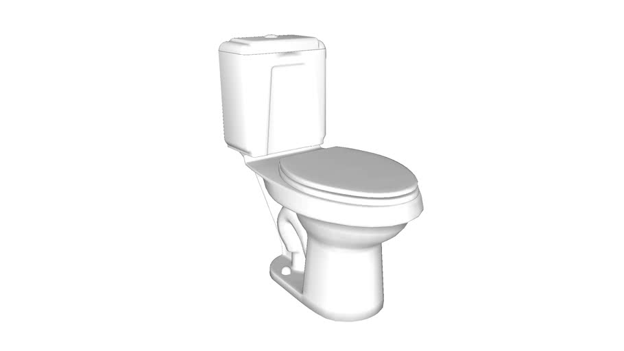 402088 Rockton(R) Comfort Height(R) Two-piece elongated dual-flush toilet