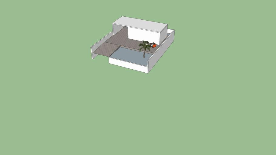 Casa 0302 com muro