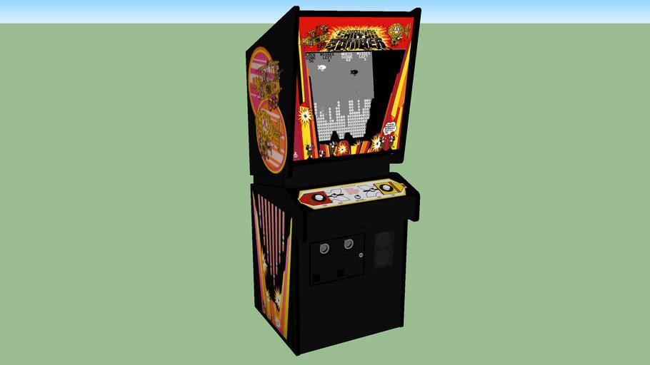 Canyon Bomber Arcade Game