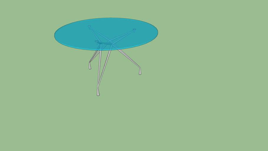 """Apollo - 3 Leg Table 55.25"""" DIA - Model 94207"""