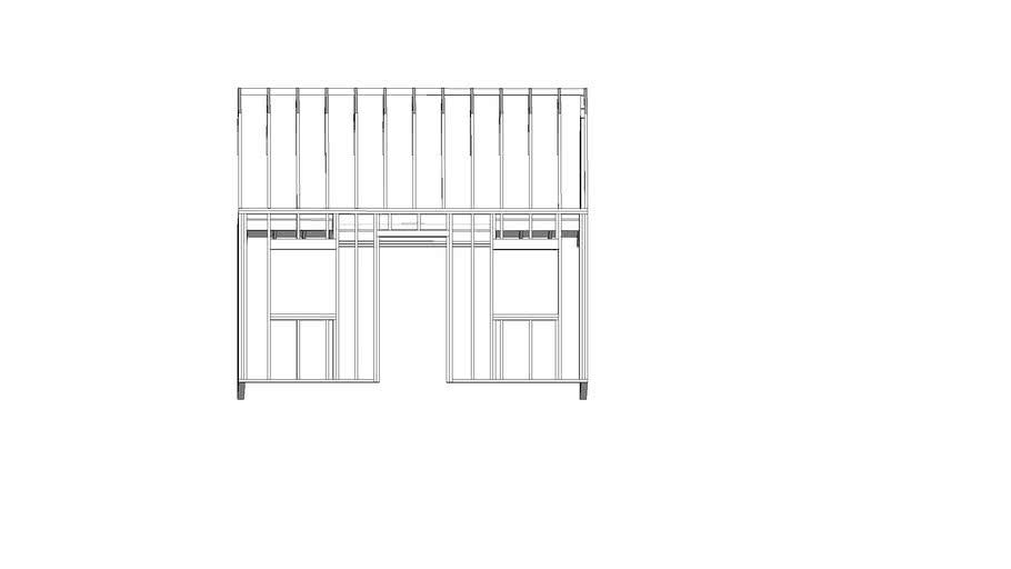 diagram of bunkhouse bunkhouse framed 3d warehouse  bunkhouse framed 3d warehouse