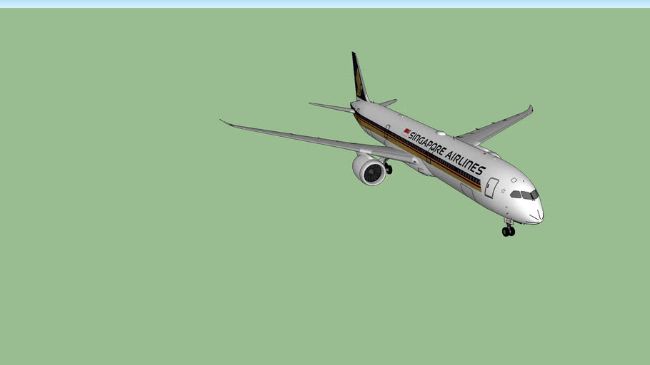 Singapore Airlines Boeing 787-900