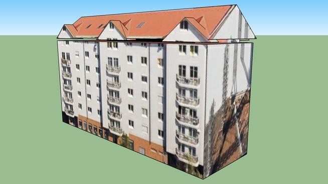 Baross utca 114-116 in Budapest, Hungary