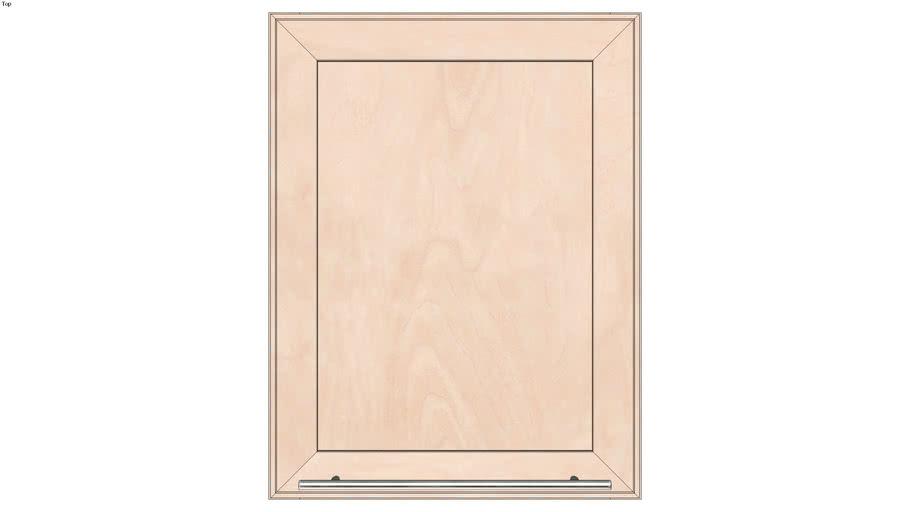 Wall Single Door 24Hx15D
