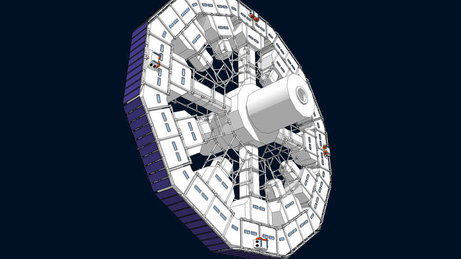 Space Station Beginnings 1