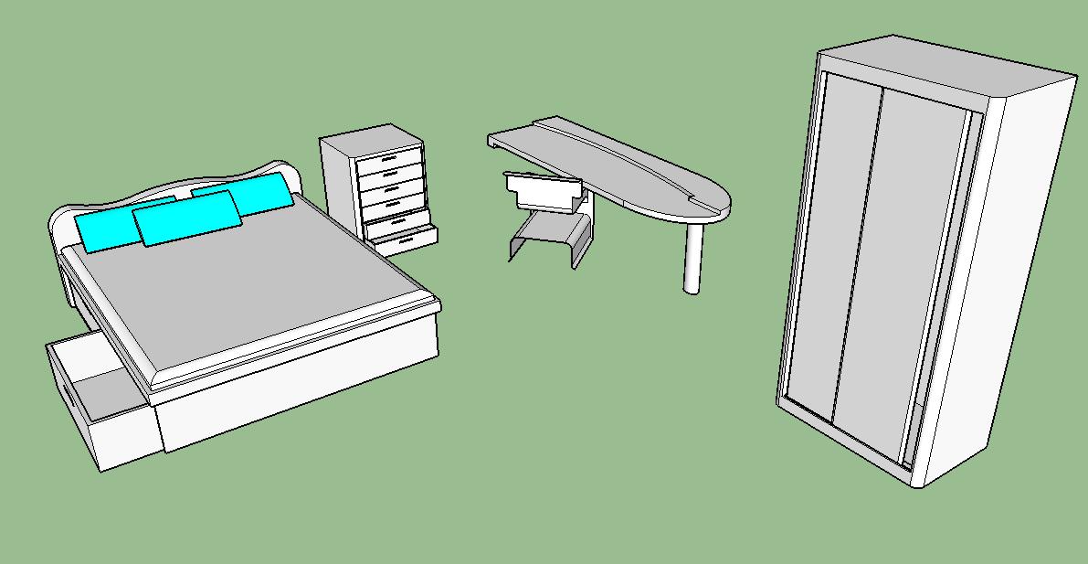 Pencil and Crayon - Bedroom Basics