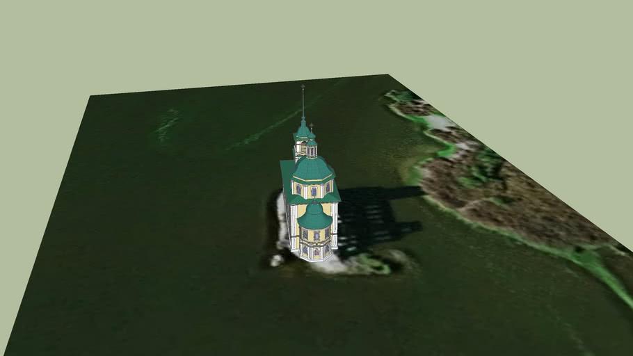 Крохино - Церковь Рождества Христова (реконструкция)
