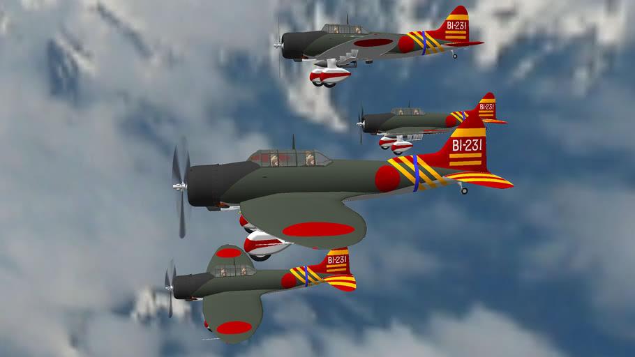 WW2+IMPERIAL+JAPANESE+AIRFORCE+AICHI_D3A