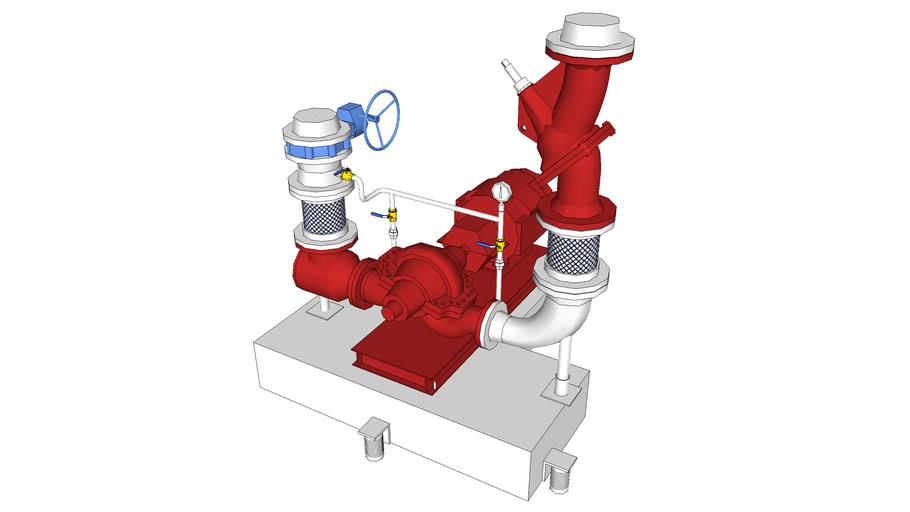 ARMSTRONG 4600-6X5X12H-50HP HORIZONTAL SPLIT CASE PUMP