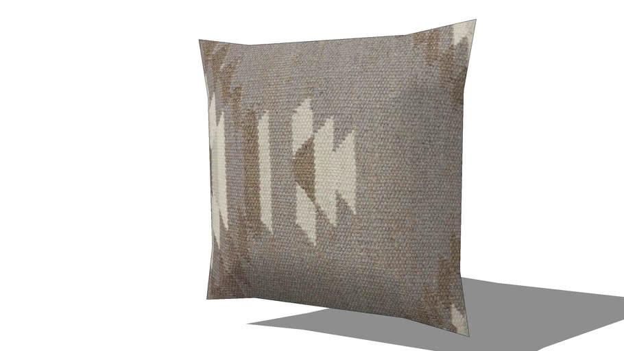 Coussin ethnique en laine et coton 45x45cm LOGIA REF 168086 PRIX 29.90€