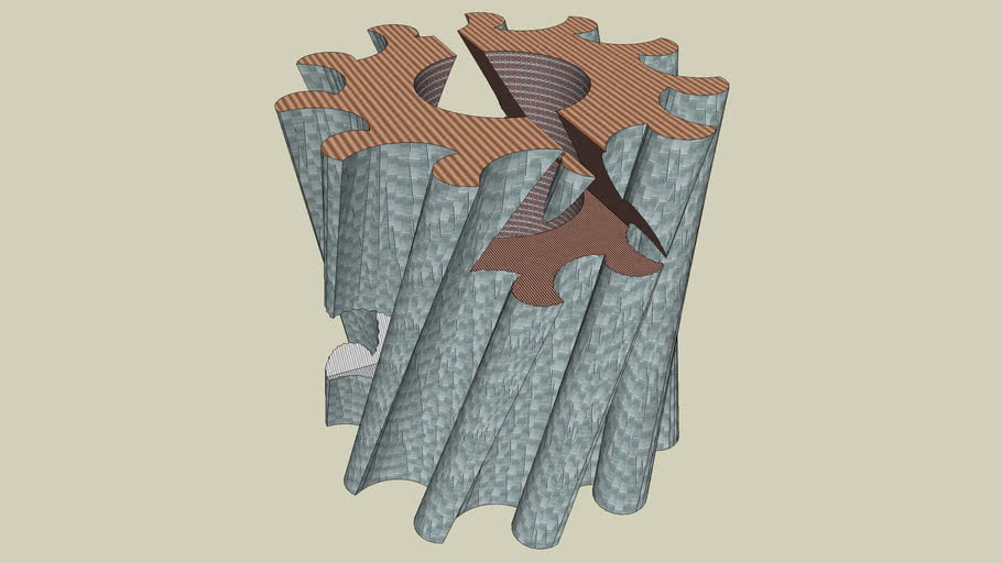 11 Twisted Pierced Monolith 1