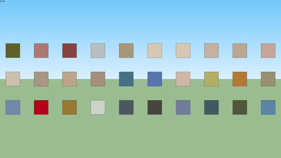 SW Paint Palette 27
