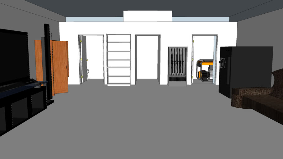 Metric Bunker Design Warehouse