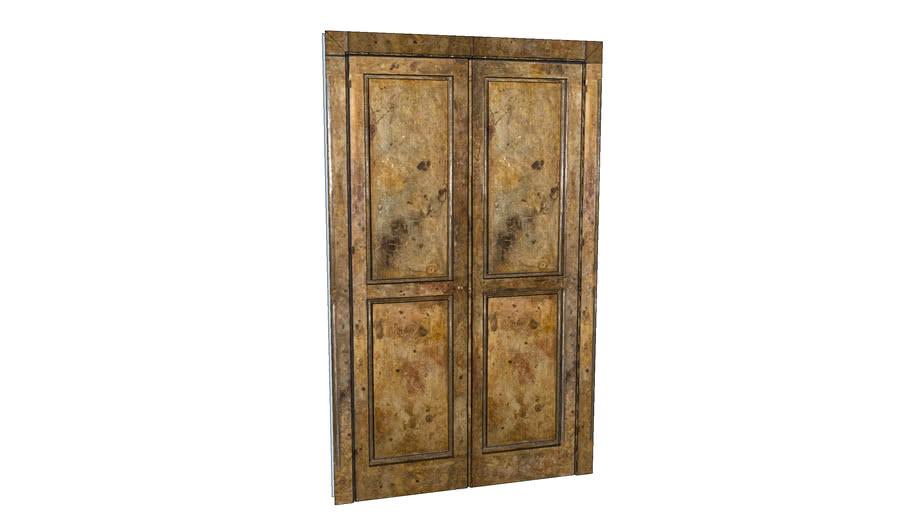 Marbled Antique Door