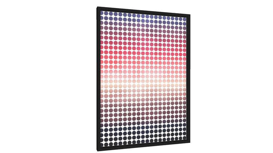 Quadro Pôr do sol gradiente III - Galeria9, por Arte Natural