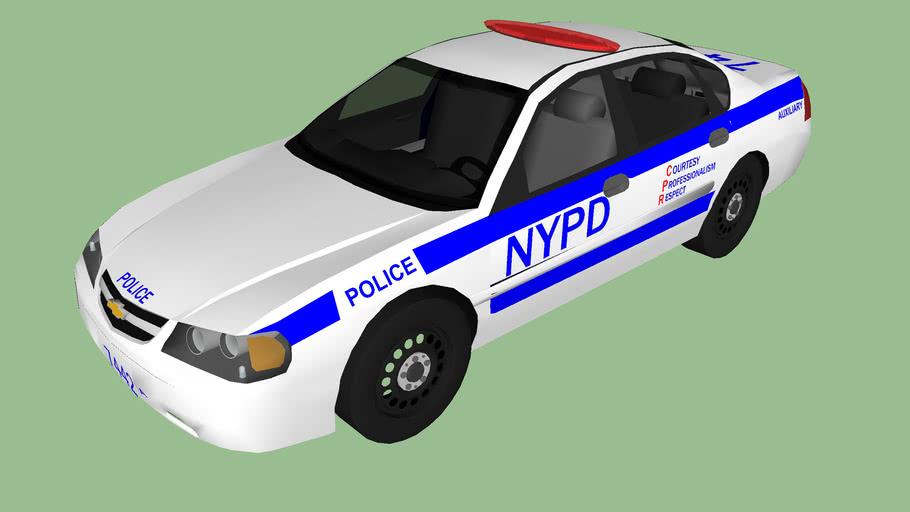 NYPD police impala