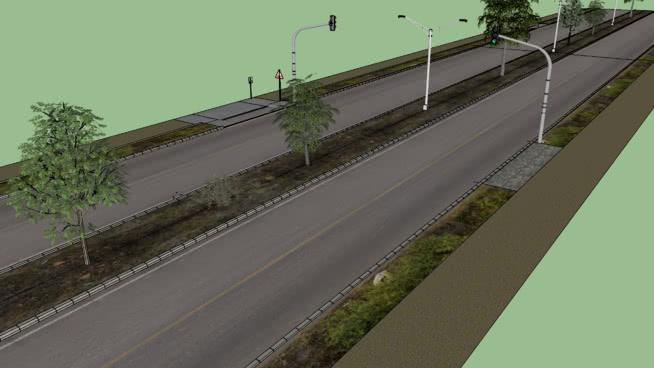 Ruas e calçadas