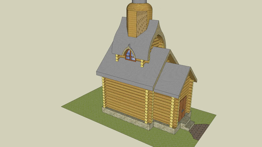 Деревянные церкви России