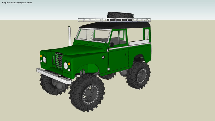 Tuned Off road Land Rover Series 3