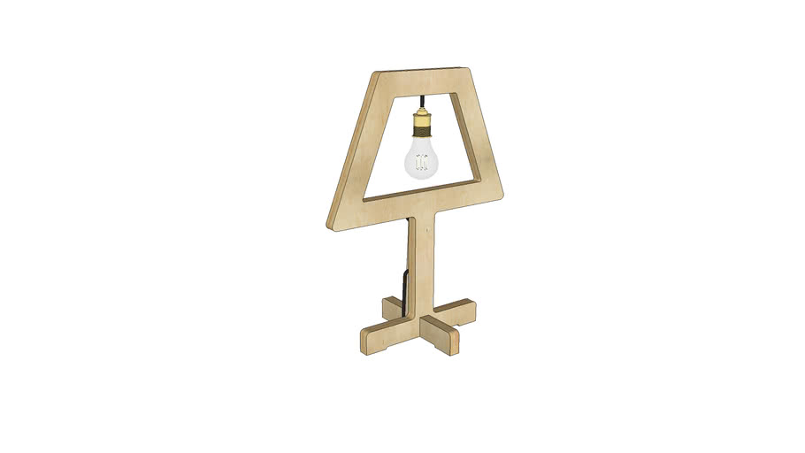 Symbol Table Lamp - Contemporary Lighting by Liqui