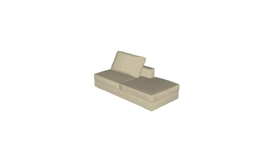 Florense Modula - Chaise Longue Esquerdo 940x595x1980