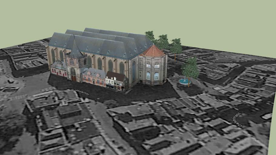 De 15e eeuwse Grote of Sint Michaëlskerk
