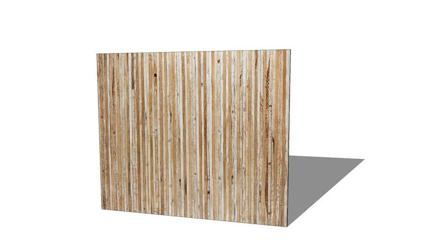 MISTRAL Tête de lit en manguier vieilli et blanchi L.140cm REF 165908 PRIX 299.00€