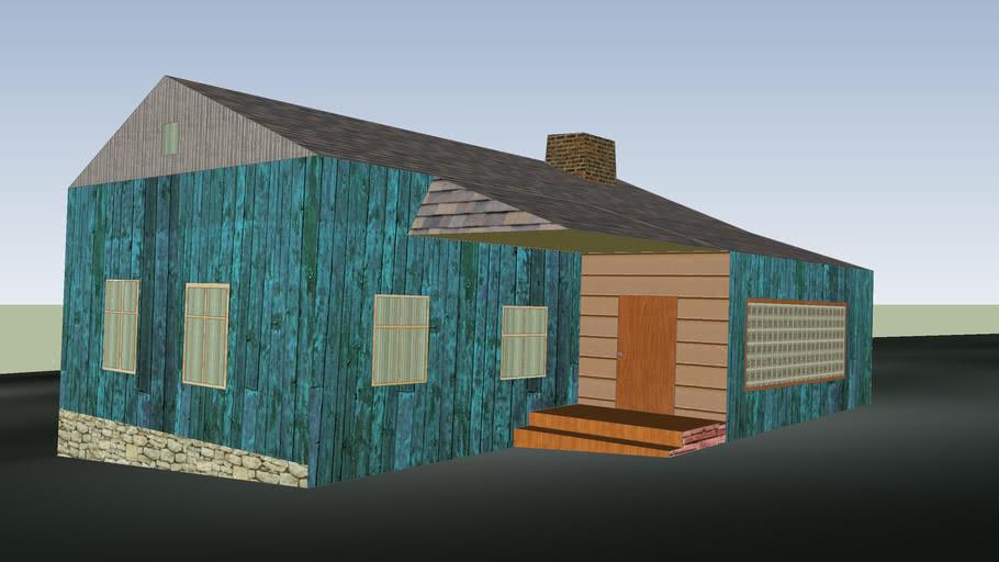 зеленый домик доработка 2