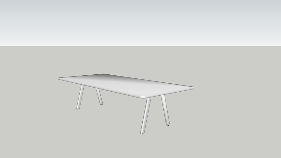 DE VORM - Big Lite Modular Table System 297x130x74