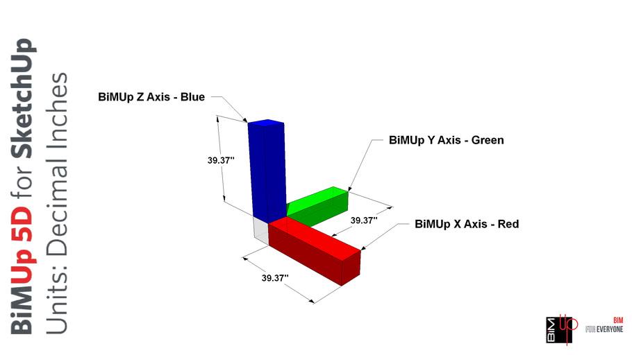 BiMUp 5D Template - Inches/Decimal
