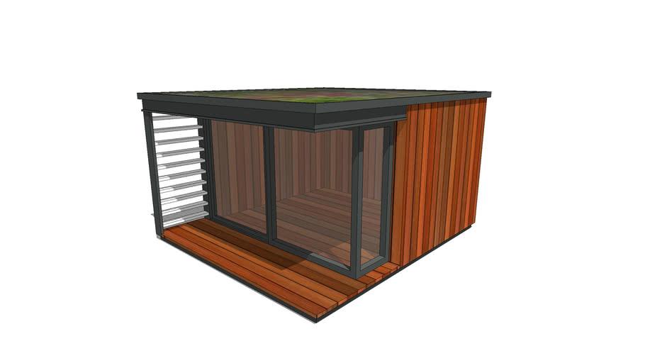 Garden Room - Office Studio - Contemporary