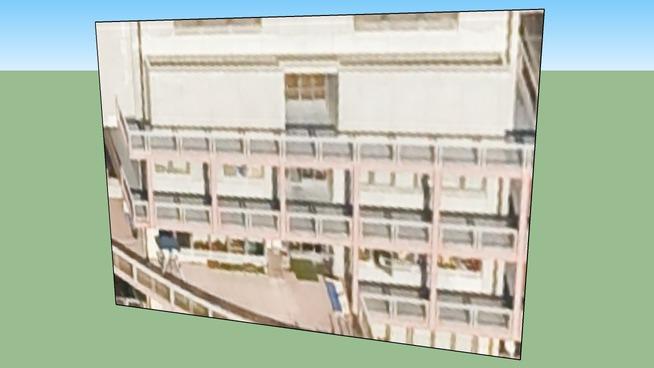Building in Kyōto, Japan