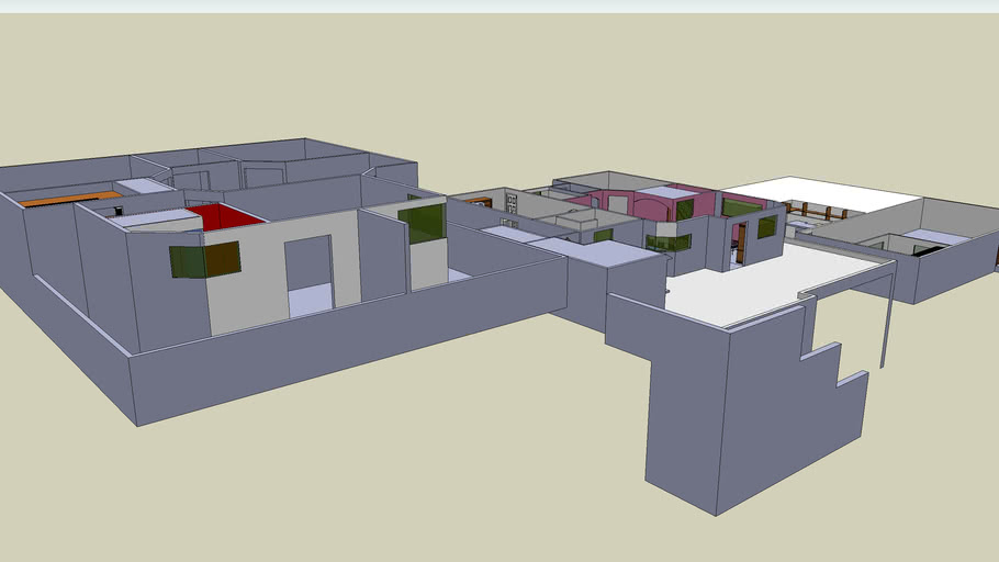 House in progress -2. Second attempt with different ideas!!