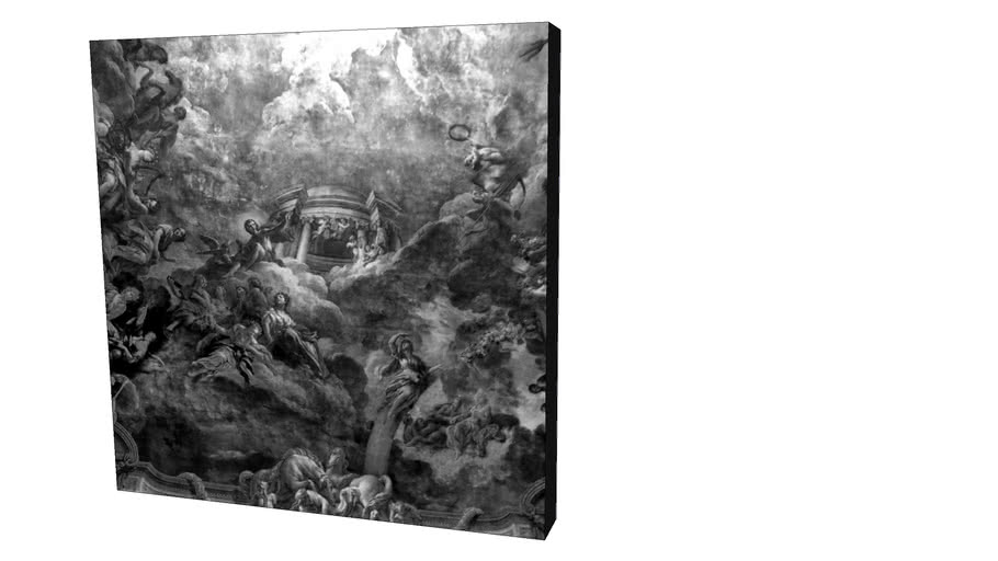 Quadro Dorival Moreira - Coleção Paris Inside 01