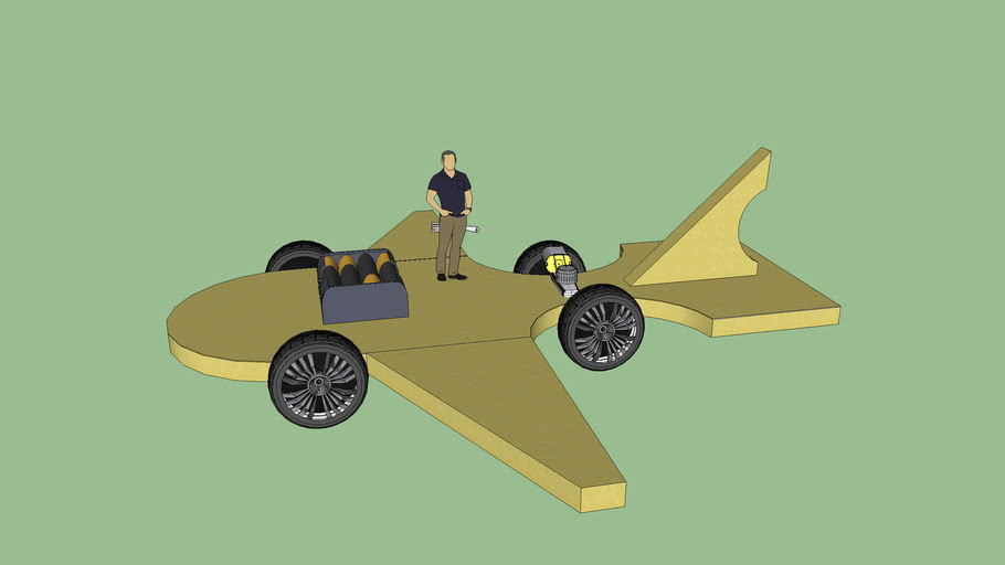 Plane Car, Bro!! ( ULTRA DANK)