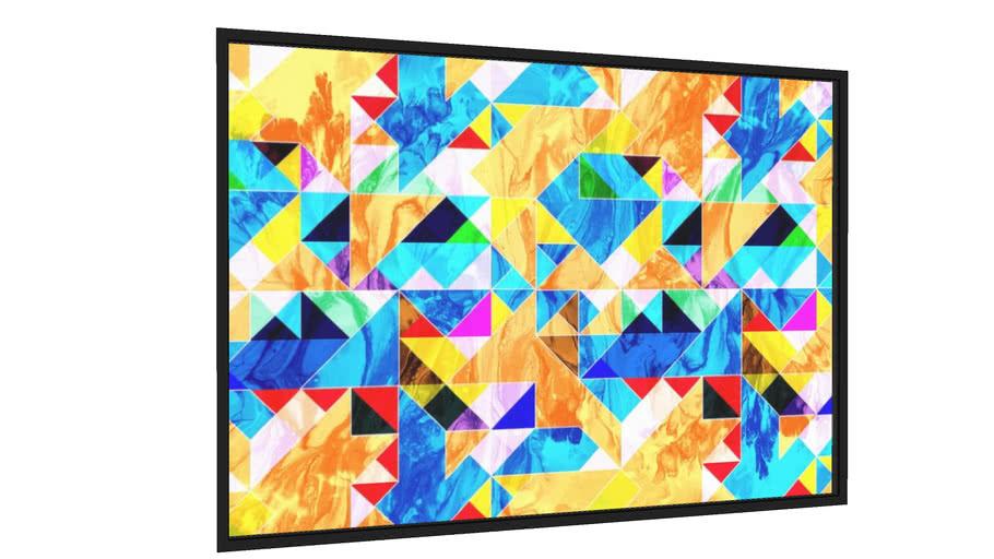 Quadro Colorful Artwork - Galeria9, por Art Design Works
