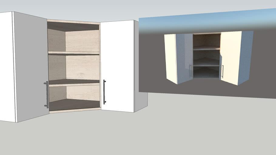 Kitchen corner cabinet new