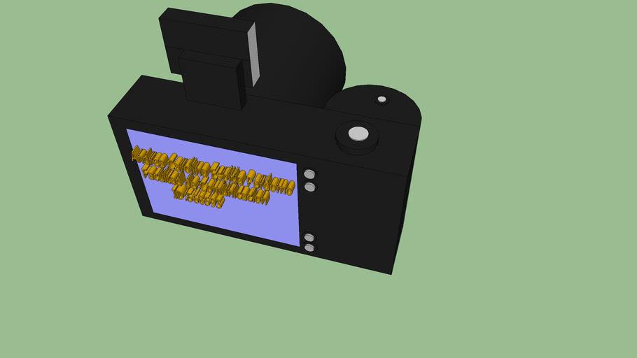 Modelo camara 3D