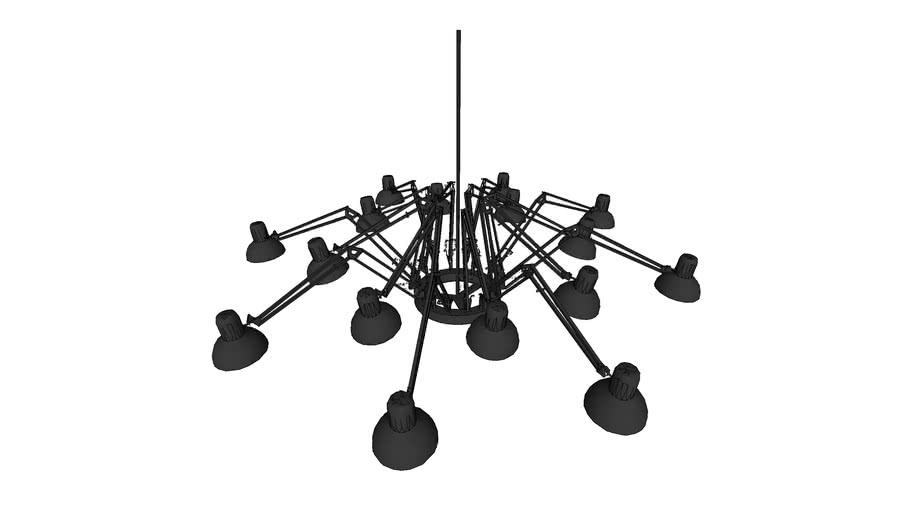 Suspension multi-lampes de bureau