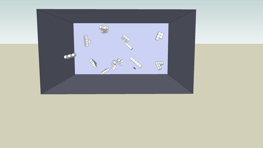 pentomino zero-gravity chamber