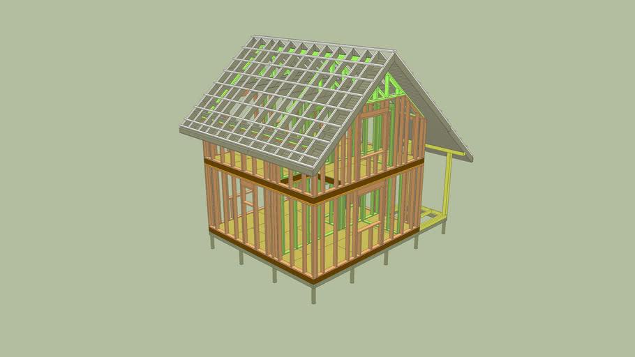 Frame house Каркасный дом