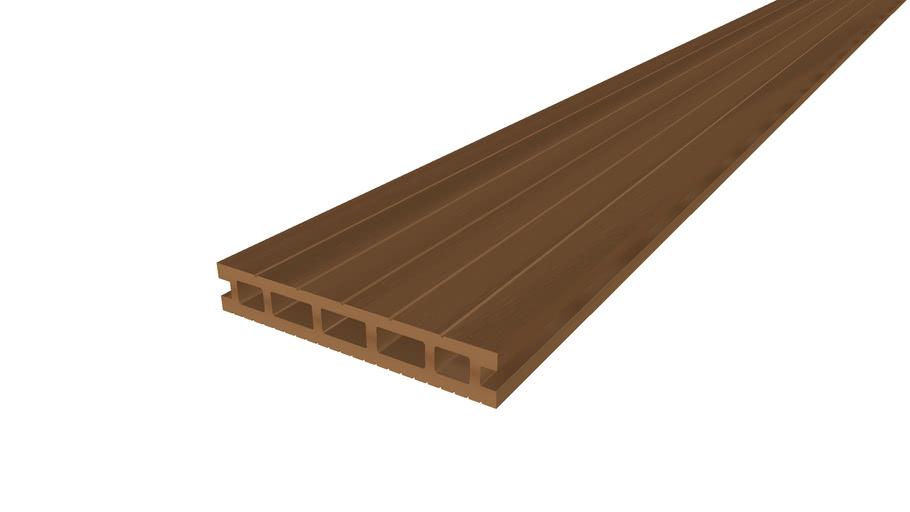 Clarity Deck Board 4.8m Autumn