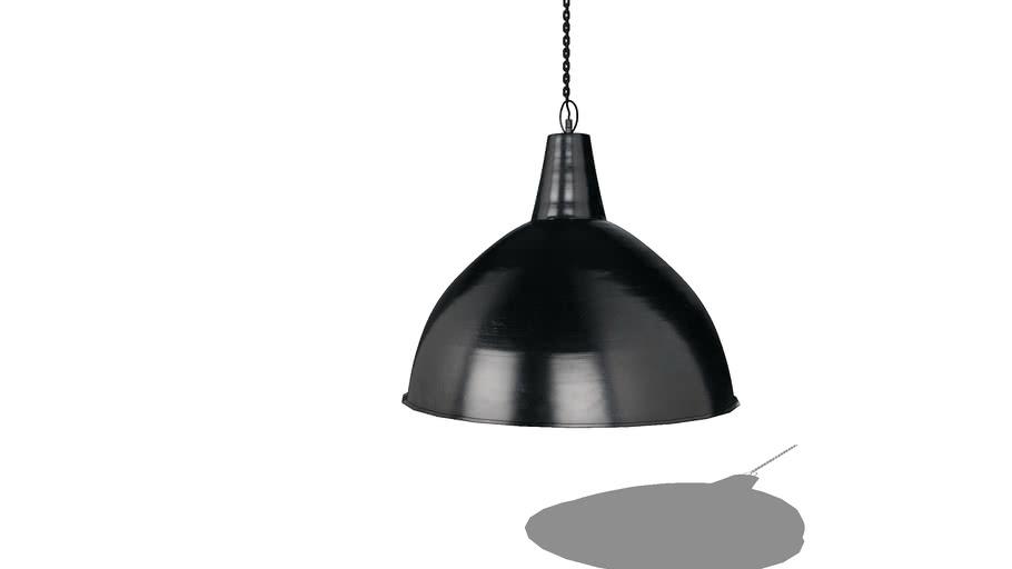 Suspension en métal noir D.59cm PARKER REF 165183 PRIX 110.00€