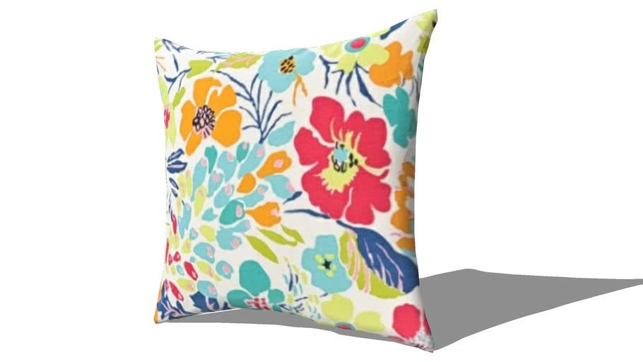 Pillow-Hot House Floral-Summer