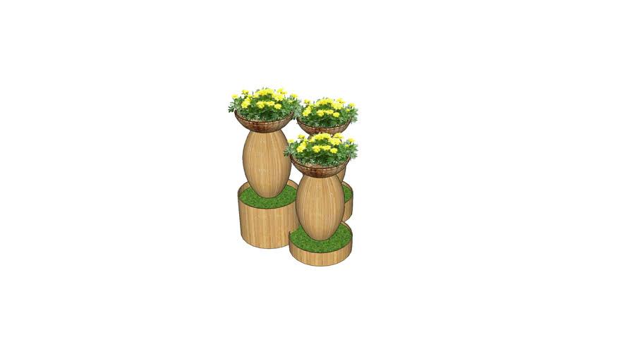 Chậu hoa 1 - Flower 1