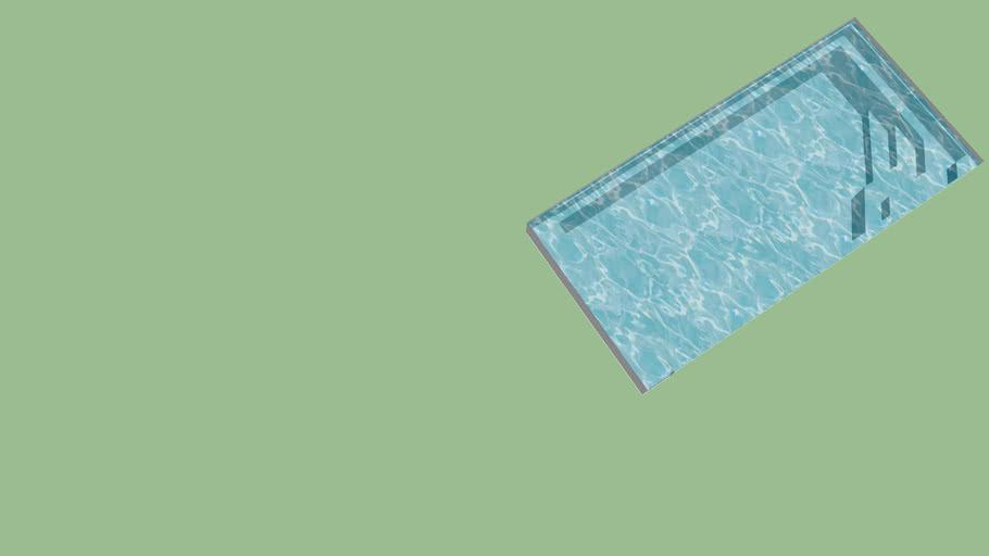 BAHIA 1 - Piscine coque fibres de verre résine polyester